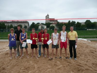 2010m. Lietuvos U-16 prizininkai